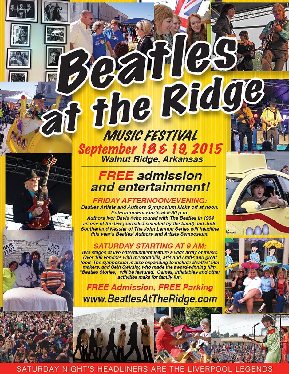 2015 Beatles at the Ridge Walnut Ridge Arkansas