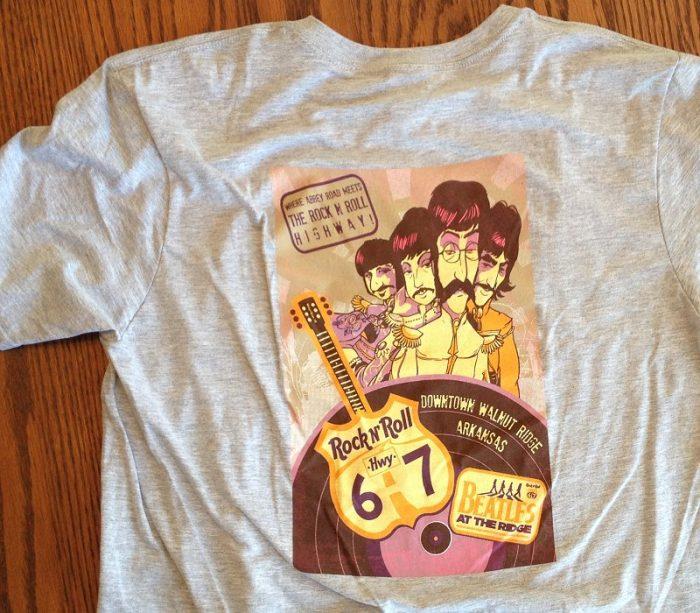 2013 Festival T-Shirt (Back)