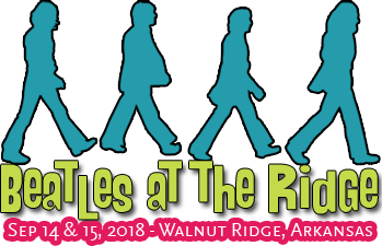 Beatles at the Ridge Music Festival – Walnut Ridge, Arkansas – Sept 14 & 15, 2018 Logo
