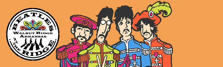 Beatles at the Ridge Music Festival – Walnut Ridge, Arkansas – Sept 17, 2022 Logo